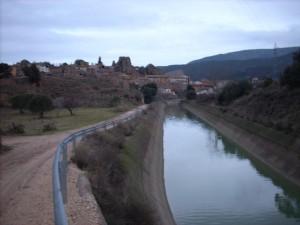 Una vista de Estada y su canal. Foto: Paco Velázquez.