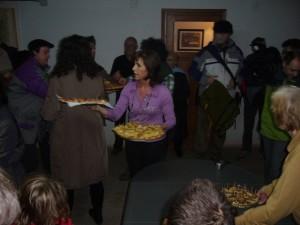 La alcaldesa Inma Subía agasajó a sus invitados. Foto S.E.