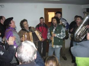 La charanga amenizó la fiesta. Foto S.E.