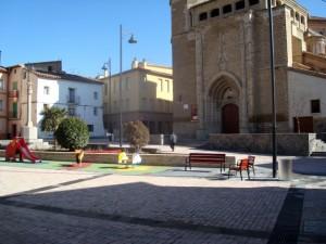 Plaza peatonalizada. Foto S.E.