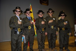 Una patrulla de guardias civiles. Foto JLP.