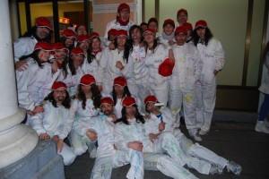 Chapuzas en el Carnaval de Barbastro. Foto JLP.