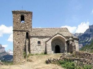 Ermita de Viú dedicada a san Vicente.