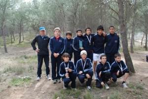 Los campeones en Ballobar.