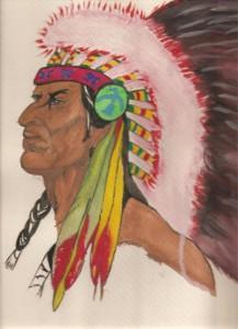 Indio Sioux. Paco Velázquez.
