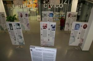 La exposición se ubica en el hall.