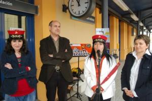 Ágata, Eduardo, Belén y Elisa. JLP.