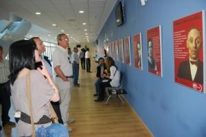 Exposición en el Centro de Congresos sobre la UGT. JLP.