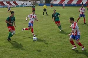 El Isidro Calderón sufrió hasta el final. C.M.