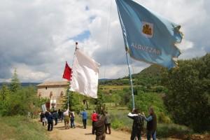 Banderas de las siete poblaciones. JLP.