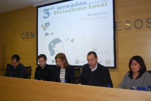 Responsables de medios regionales abrieron las jornadas. JLP.