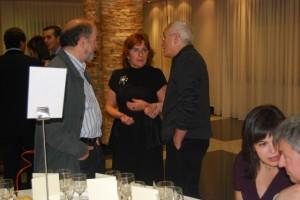 María Victoria Broto conversa con Ánchel Conte. JLP.
