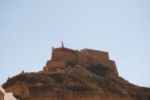 Castillo templario de Monzón.