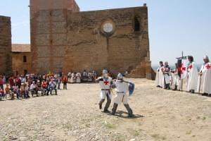 Los templarios en el castillo de Monzón. JLP.