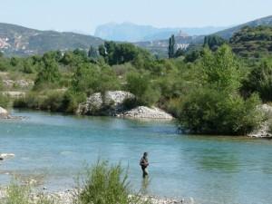 De Pesca en el Cinca. C.G.
