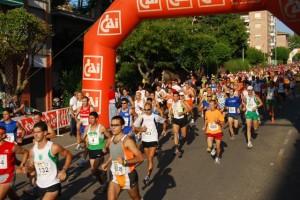 Medio Maratón Ruta Vino del Somontano del pasado año. JLP.