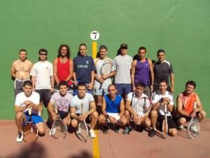 Participantes en el torneo.