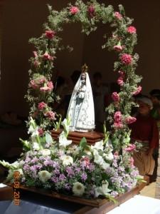 La Virgen del Viñero (El Grado). Foto Paco Velázquez.