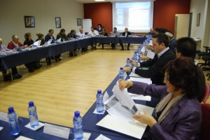 Reunión del comité permanente. JLP.