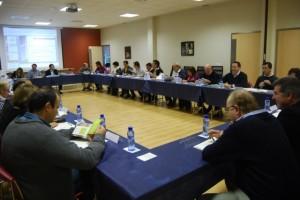 Sesión de comisión del Somontano. JLP.