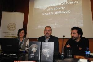 Presentación de los libros en el IEA. JLP.