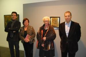 Toni Buil, María Jesús Buil, Isabel Guarné y Antonio Cosculluela. JLP.