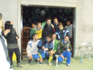 Los campeones, Los Templarios F.C. de Huesca.