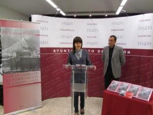 Irene Abad y Fernando Heras. JLP.