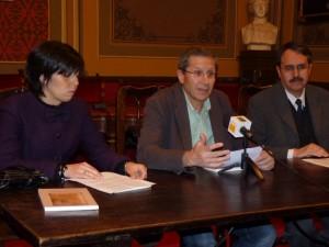 Presentación de la obra en el Ayuntamiento.