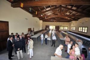 El nuevo local social de Hoz de Barbastro.