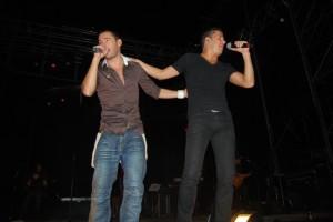 Andy & Lucas en Barbastro. JLP.