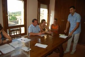 Raúl Rufas jura su puesto como alcalde de Bierge.