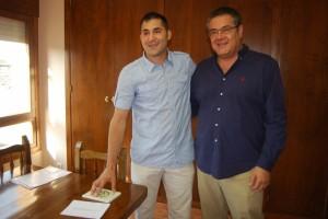 Raúl Rufas y Antonio Torres. JLP.