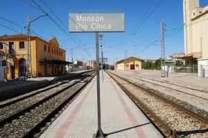 Estación de Monzón Río Cinca. JLP.