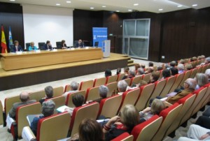 Acto de apertura del curso en Huesca.