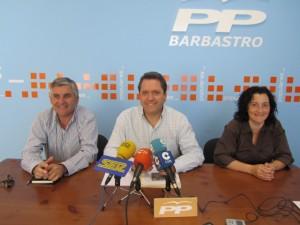 Los ediles del PP. JLP.