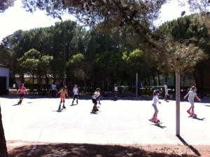 Curso de patinaje en mayo.