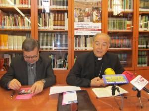 José Huerva y Alfonso Milián. JLP.