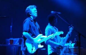 Clapton en un concierto.