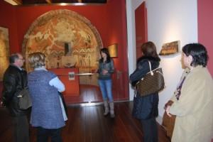 Visita guiada al museo. JLP.