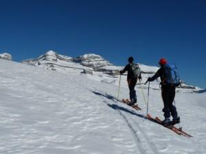 Esquí de travesía.