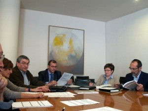 Reunión del consejo del IEA.