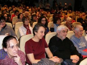 Numeroso público acudió a la presentación, entre ellos Blas Coscollar. A.H.