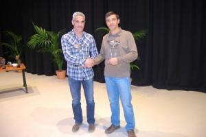 Javier Subías y Paco Jordán, premios a la hazaña deportiva. José Luis Pano.