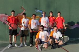 Equipos de Ra Tenaja Castillazuelo y Peraltilla El Terrero (Foto: Eduardo Budiós).