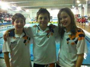Los nadadores de Monzón.