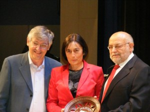 Carmen Guardia, premio a los valores humanos. Pepe Sánchez.