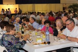 Comida de San Isidro en Monzón.