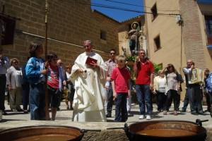 Bendición de las judías en Huerta de Vero. José Luis Pano.