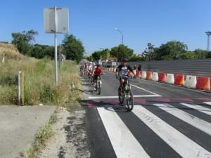 Marcha ciclista por la Vía Verde. JLP.